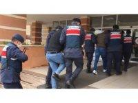 Kastamonu'da enerji nakil kablolarını çalan hırsızlar tutuklandı