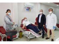 Milletvekili Kavuncu'dan kan bağışı