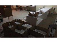 Kocaeli'de 15 bin adet kaçak maske ele geçirildi