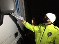 Korona virüsüne karşı İstanbul'un giriş - çıkışında gece boyu denetimler devam ediyor