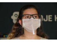 Üniversite öğrencisi maske üretimine farklı bir boyut getirdi