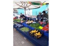 Aslanapa pazarına esnaf girişi yasaklandı