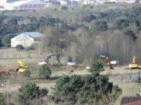 İstanbul'da kurulacak sahra hastanelerinin yapımına başlandı