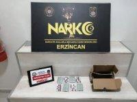 Erzincan'da 938,83 gram eroin ile 2,1 kilogram metamfetamin ele geçirildi