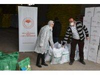 Aksaray'da çiftçilere kuru fasulye ve mısır tohumu dağıtıldı