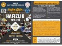 Malatya'da Hafızlık okulları kayıt dönemi başladı