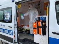 Ambulanslar her nakilden sonra dezenfekte ediliyor