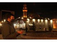 Erzurum'da Berat gecesi camilerden dualar yükseldi