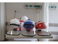 Trakya Üniversitesinde üretilen koruyucu maskelerin teslimatı başladı