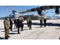 """MSB: """"Sağlık malzemelerini taşıyan uçağımız Bosna Hersek'e ulaştı"""""""
