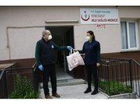 Büyükşehir'den 19 ilçede hizmet veren 331 ASM' ye koruyucu set