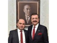 Başkan Acar, TOBB Başkanı Hisarcıklıoğlu'na teşekkür etti