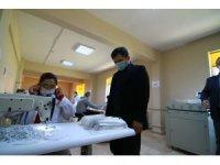 Edirne'de günlük 10 bin adet maske üretilecek