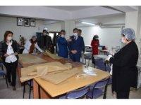 Halk Eğitim Merkezleri günde 7 bin maske üretiyor