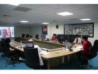 İl Sağlık Müdürü idarecilerle telekonferansla görüştü