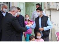 Kahta'da Evde Kal Kitap Oku kampanyası başladı