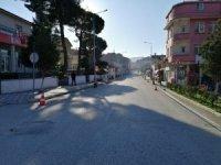 Kargı'da vatandaşlar tedbirlere uyuyor, sokaklar sessiz