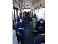 Arpaçay'da korona virüs ile mücadele eden sağlıkçılara ulaşım desteği
