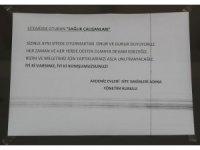 Sinop'ta yazılan yazıya Ordu'dan anlamlı cevap