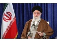 """İran dini lideri Hamaney: """"Korona meselesi bizi düşman komplolarından gafil etmemeli"""""""