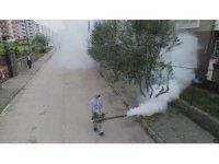 Ceyhan belediyesi, korona virüs ile mücadeleye aralıksız devam ediyor
