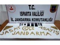 Isparta'da sahte altınla dolandırıcılığa 4 gözaltı