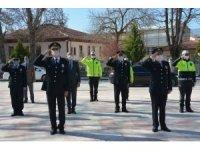Türk Polis Teşkilatı 175 yılı münasebetiyle çelenk sunumu yapıldı