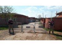 Kızıltepe'de bir mahalle korona virüs nedeniyle karantinaya alındı