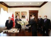 Bursa İl Emniyet Müdürü Aslan, Vali Canbolat'ı makamında ziyaret etti
