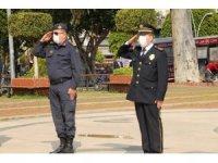 Manavgat'ta Polis Gününe sade kutlama