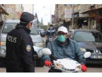 Kilis'te polis korona virüs denetimlerini sıkılaştırdı