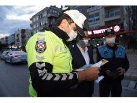 Başkan Yılmaz'ın mektupları, gece nöbetindeki polislere de ulaştı