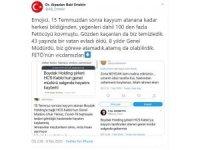Alpaslan Baki Ertekin'den 'FETÖ'nün vicdansızları' tepkisi