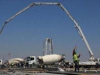 Atatürk Havalimanı'ndaki hastane inşaatında hummalı çalışmalar sürüyor
