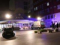 Denizli'de koronavirüs tanılı kişi, hastanenin 2. katından çarşafları bağlayarak kaçtı