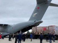 Türkiye'nin Kovid-19 ile mücadele için gönderdiği tıbbi yardımlar ABD'ye ulaştı