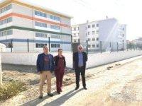 Burhaniye'de imam hatip lisesi inşaatı tamamlandı