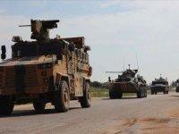 İdlib'deki M4 kara yolunda 7. Türk-Rus birleşik kara devriyesi tamamlandı