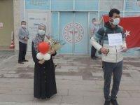 Bolu'da pandemi hastanesindeki son hastalar da taburcu edildi