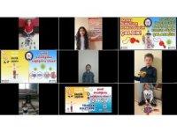 Çocuklardan trafik haftası mesajı