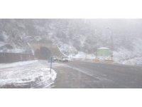 Doğu Karadeniz Bölgesi'nin yüksek kesimlerine Mayıs ayında kar yağdı