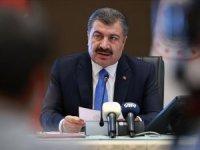 Türkiye'de koronavirüsten son 24 saatte 55 can kaybı