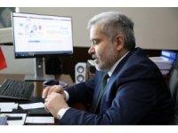 Rektör Şahin, öğrencilere telefonla ulaştı ve hasbihal etti