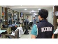 Uşak polisinden 'korona virüs' denetimi