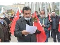 Ardahan Belediyesi 93 harbi şehitlerini andı