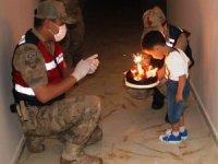Suriye'de görevli uzman çavuşun oğluna sürpriz doğum günü