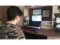 Düzce'de online deneme sınavı yapıldı