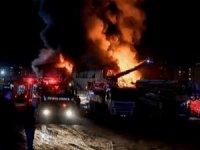 İstanbul'da şantiye yangını: 1 işçi hayatını kaybetti, 5 kişi yaralandı