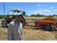Çiftçilerin tarlada bayram mesaisi