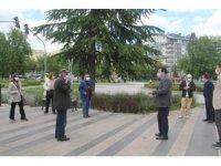 Emniyet Müdürü Aksoy, 65 yaş ve üzerinin bayramını kutladı